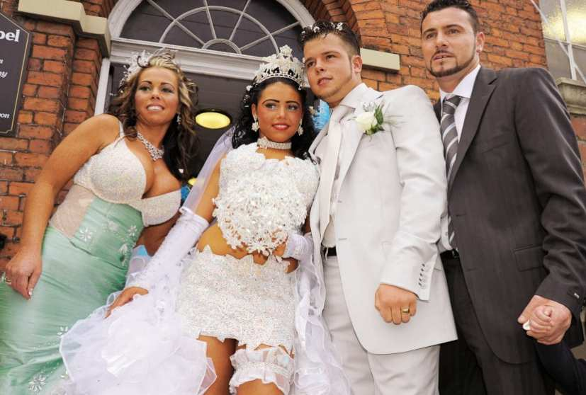 Matrimonio Gipsy Real Time : Se sei tamarra e tu lo sai su real time ti sposerai