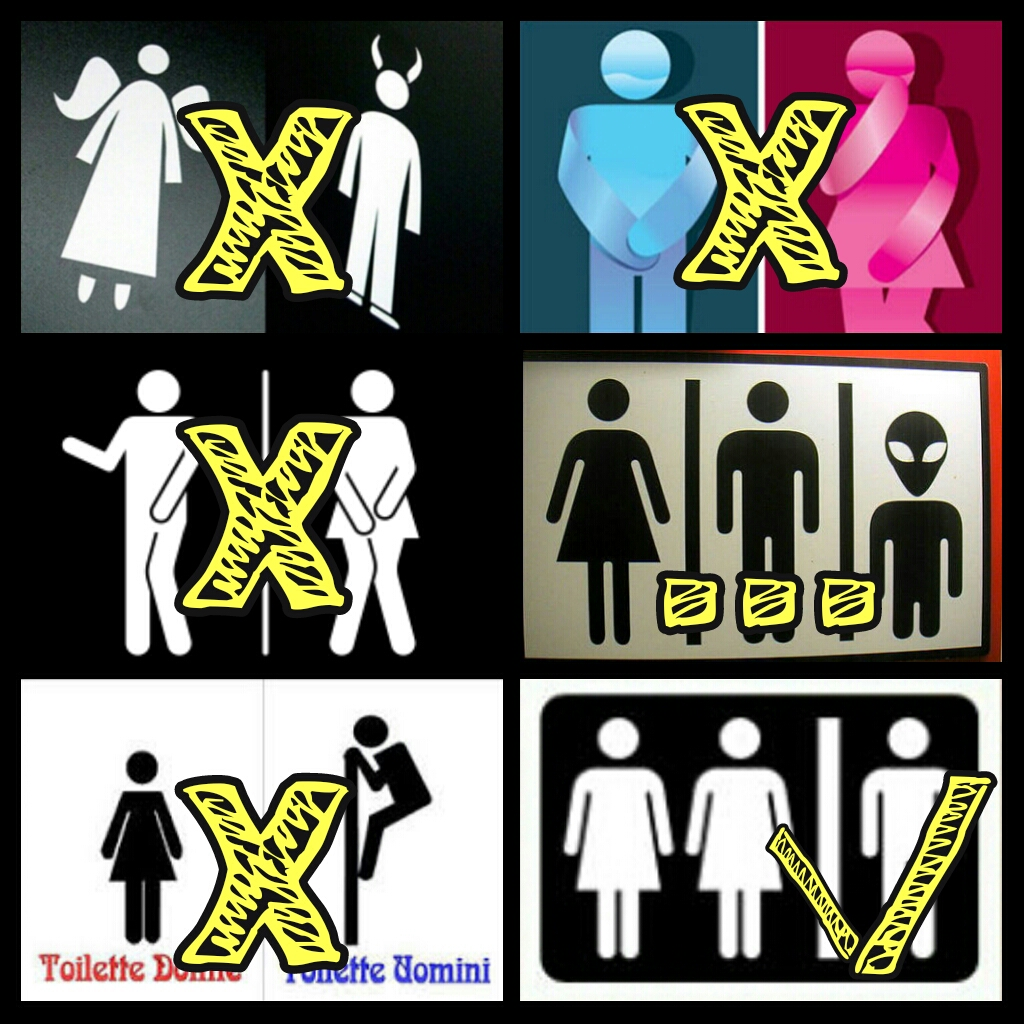 perchè le donne vanno insieme in bagno
