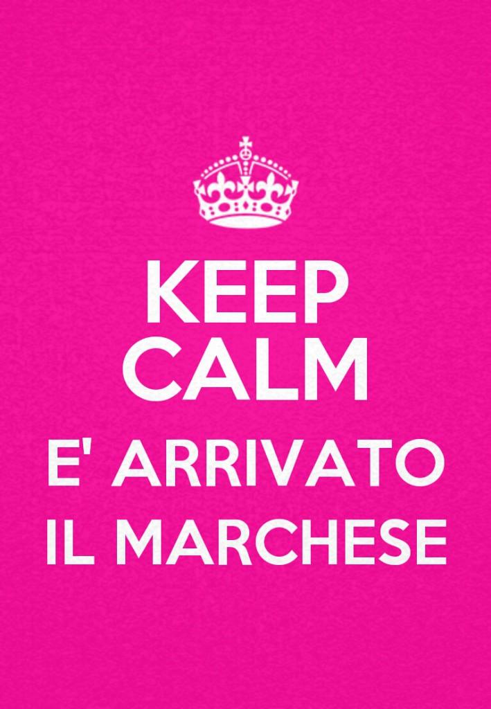 Arrivato il marchese e altri nomi mestruali vene for Keep calm immagini